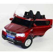 BMW X5 style 4x4 elektromos 2 személyes kisautó