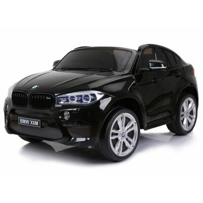 BMW X6 M elektromos 2 személyes kisautó 2.4 GHZ eredeti BMW licenc