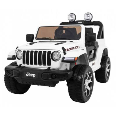 Jeep Wrangler Rubicon 4x4 elektromos kisautó