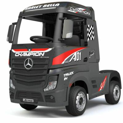 Mercedes Benz Actros kamion 4x4 elektromos kisautó 2.4 eredeti Mercedes licenc