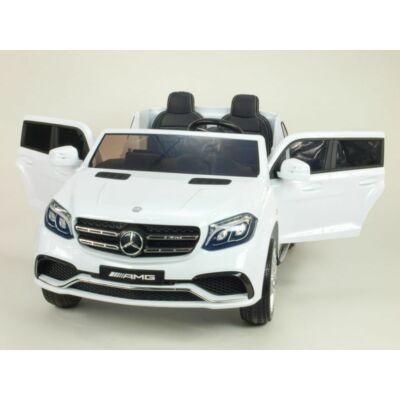 Mercedes AMG GLS63 4x4 elektromos 2 személyes kisautó 2.4 GHZ eredeti Mercedes licenc