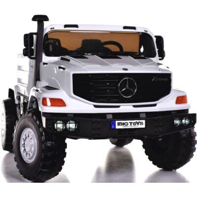 Mercedes Benz Zetros elektromos 2 személyes kisautó 2.4 GHZ eredeti Mercedes licenc