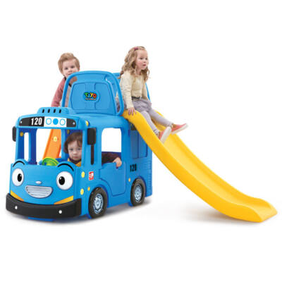 Kerti játszótér BLUE BUS 3in1